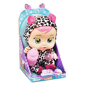 Інтерактивна лялька пупс Плаче немовля Плакса Дотті Cry Babies Dotty Чорний