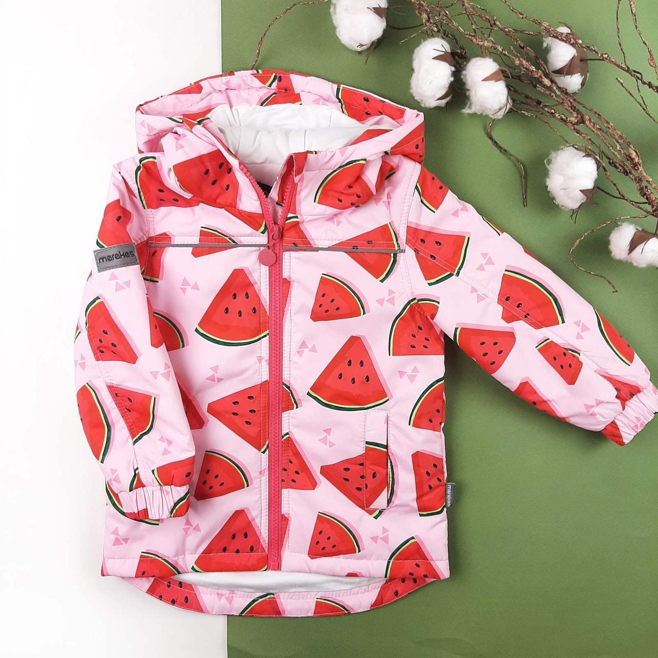 Детская демисезонная куртка Арбузики 116, 122, 128, 134