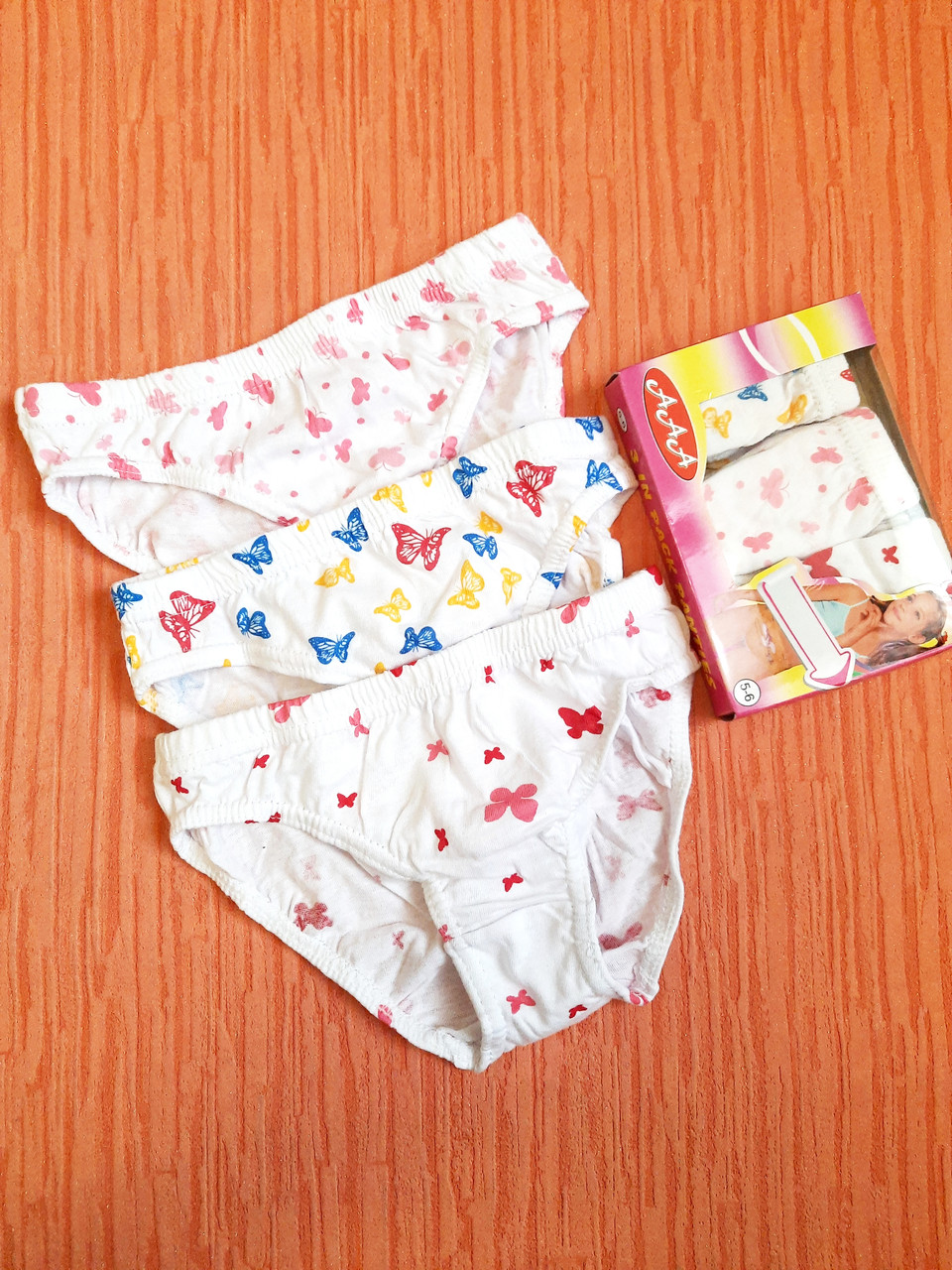 Плавки трусы детские на девочек 0-5 лет хлопок стрейч. От 15шт по 8 грн
