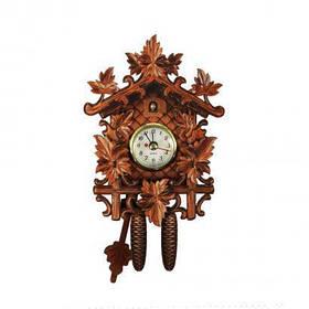 Настенные часы Supretto с маятником Коричневый  КОД: 4969