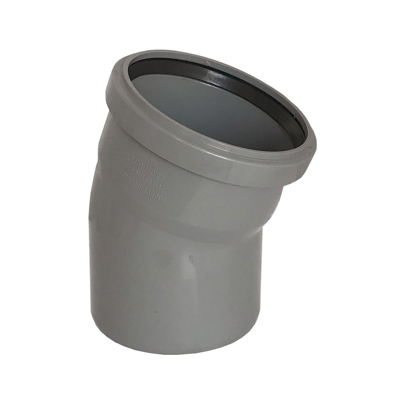 Колено VSplast 110x22°