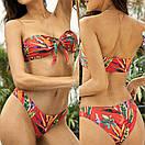 Яскравий жіночий роздільний купальник яскравий жіночий купальник роздільний, фото 3