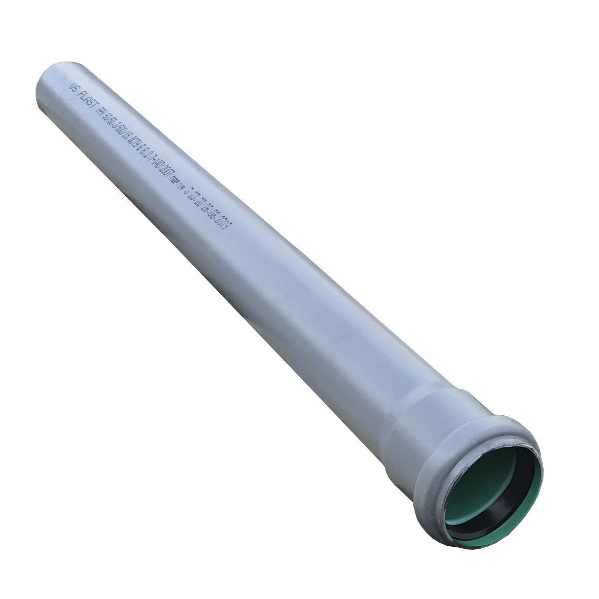 Труба канализационная VSplast 50х500мм