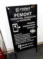 Металлический рекламный штендер (0,65*1), фото 1