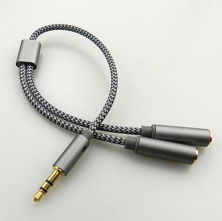 Кабель мультимедийный KIN Fast Cable KY-191 mini-jack 3,5, фото 2