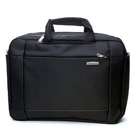Сумка для ноутбука Leimande BST 430014 30х10х42 см Чорний КОД: 430014