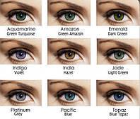 Цветные контактные линзы Bausch+Lomb Soflens Natural Colors 2 шт