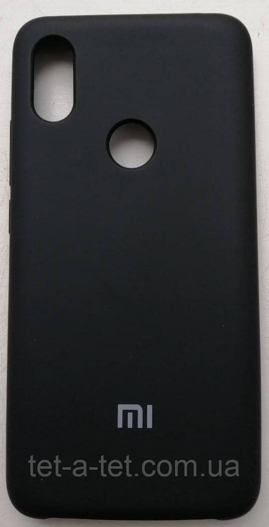 Силиконовый чехол-накладка Color Silk для Xiaomi Redmi S2 Black