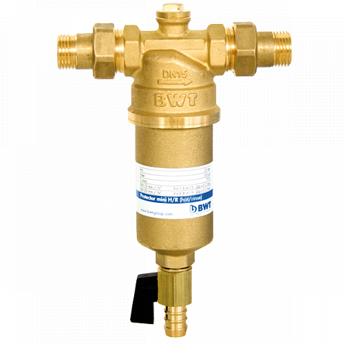 """BWT PROTECTOR MINI ¾"""" HR - фільтр для гарячої води (100 мкм)"""