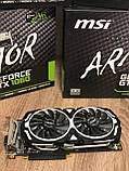 Видеокарта MSI  GeForce GTX 1060 Armor OCV1 6GB GDDR5 (192bit) (1544/8008) (DVI, 2 x HDMI, 2 x DisplayPort ), фото 4