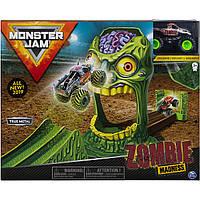 Трек Монстр Джем с Джипом Зомби Монстр Трак Monster Jam Zombie Madness Spin Master 6053298