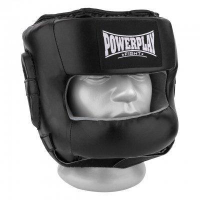 Боксерський шолом PowerPlay тренувальний 3067 з бампером PU, Amara Чорний S SKL24-144823, фото 2
