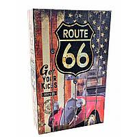 Книга- сейф Route 66 24.5х16х5.5 см КОД: DN32007D