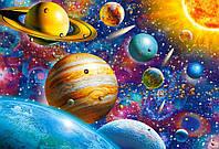 Пазл Путешествие по Солнечной системе, 1000 элементов Castorland С-104314