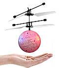 Летающая игрушка Flying Ball Розовый Шар | Шарик-вертолет, летающий от руки | Интерактивная игрушка, фото 4