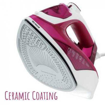 Утюг Trisa Comfort Steam i5717 7957.7712 Розовый с белым  КОД: 4707, фото 2