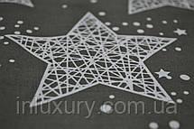 Простынь на резинке Звездное небо 140х200х20, фото 3
