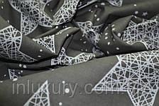 Простынь на резинке Звездное небо 120х200х20, фото 3