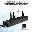 USB-хаб Promate MasterHub-2 7xUSB 3.0 Black, фото 3