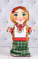 """Кукла Би ба бо """"Внучка"""", игрушка для кукольного театра, игрушка би ба бо, 28 см."""