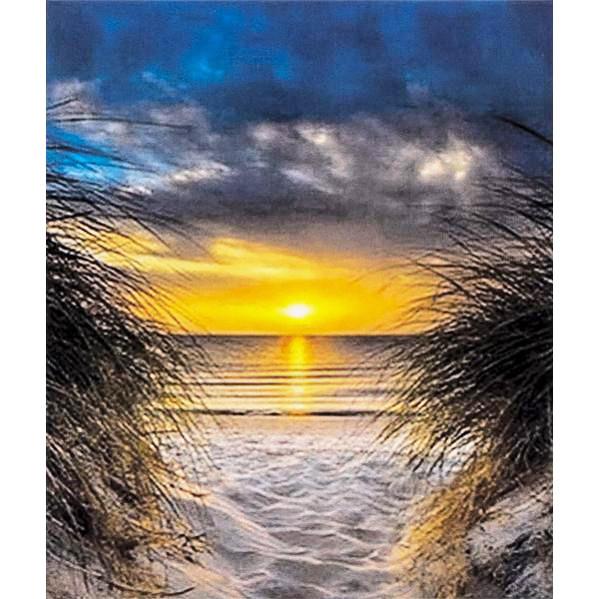 Картина по номерам 40х50 см DIY Закат на море (FX 30267)