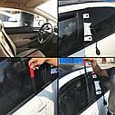 Универсальный Автомобильный набор для аварийного открывания двери, воздушная подушка слесаря 9 предметов, фото 5