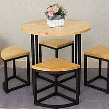 Набор кухонной мебели стол + 4 стула Lobe