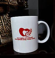 Печать логотипов и эмблем на чашках