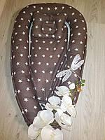 Кокон-позиционер для новорождённых :бортик+подушка+матрасик