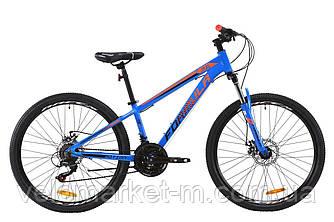 """Велосипед 26"""" Formula MOTION 13"""" 2020 сине-черно-оранжевый"""