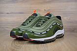 Кросівки чоловічі розпродаж АКЦІЯ 750 грн Nike Air Max 97 UNDEFEATED 41й(26см), 44й(28см) копія люкс, фото 3