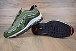 Кросівки чоловічі розпродаж АКЦІЯ 750 грн Nike Air Max 97 UNDEFEATED 41й(26см), 44й(28см) копія люкс, фото 4