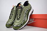 Кросівки чоловічі розпродаж АКЦІЯ 750 грн Nike Air Max 97 UNDEFEATED 41й(26см), 44й(28см) копія люкс, фото 6