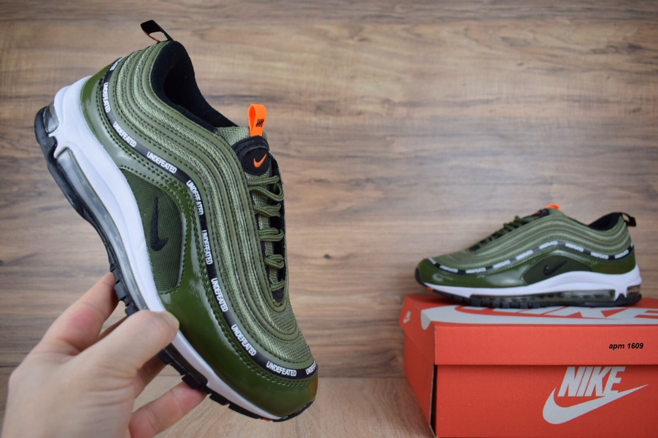 Кросівки чоловічі розпродаж АКЦІЯ 750 грн Nike Air Max 97 UNDEFEATED 41й(26см), 44й(28см) копія люкс