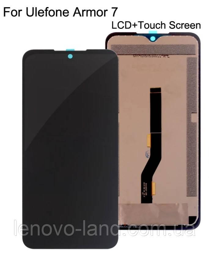 Модуль для Ulefone Armor 7 дисплей + сенсор