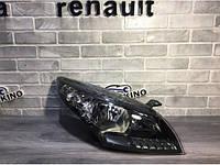 Фара правая (черная) Renault Megane 3 (2009-2013) Оригинал 260102973R рено меган 3
