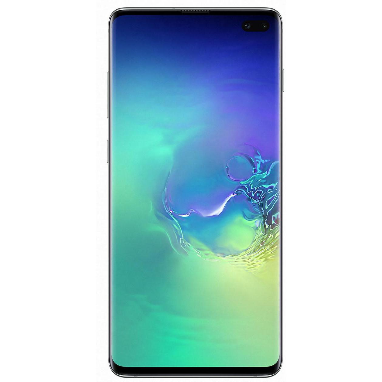Смартфон Samsung Galaxy S10+ SM-G975 DS 128GB Green (SM-G975FZGD)