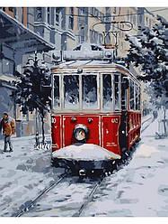 Картина по номерам Снігове місто, 40x50 см., Art Story