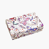 Упаковка для зефира, печенья и эклеров - Бабочки - 230х150х60 мм, фото 1