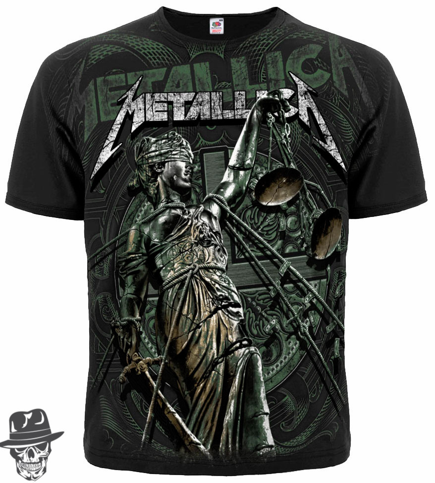"""Футболка Metallica """"And Justice For All"""" (graphite t-shirt)"""