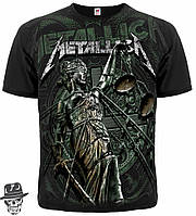 "Футболка Metallica ""And Justice For All"" (graphite t-shirt)"