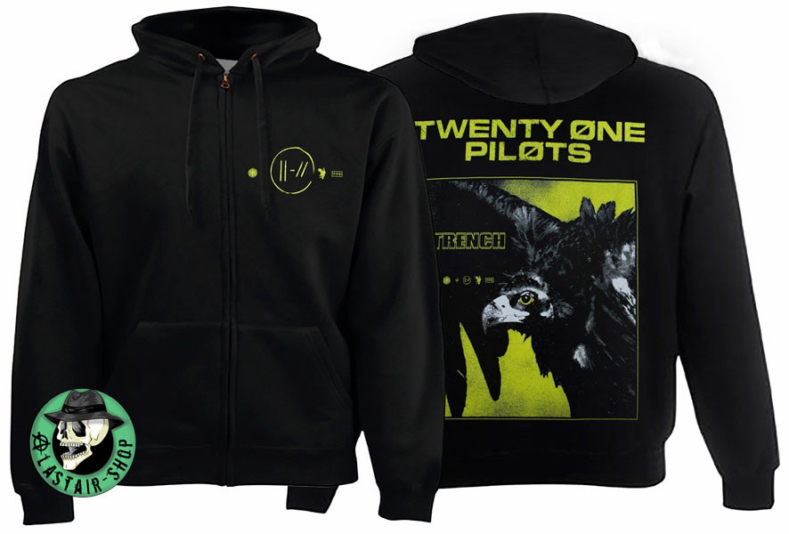 Толстовка на змійці TWENTY ONE PILOTS Trench