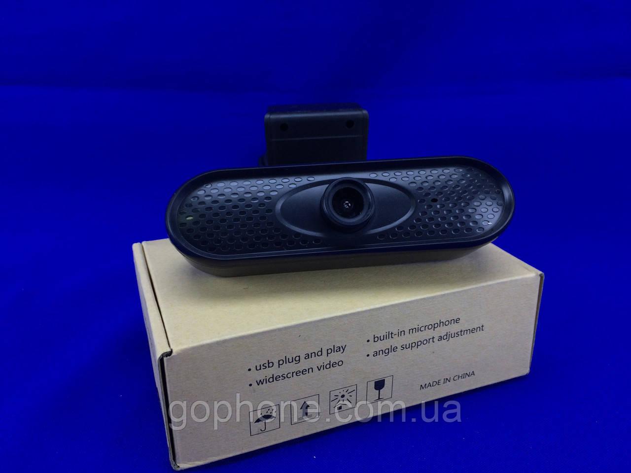 Профессиональная веб-камера с микрофоном FULLHD (1920×1080)