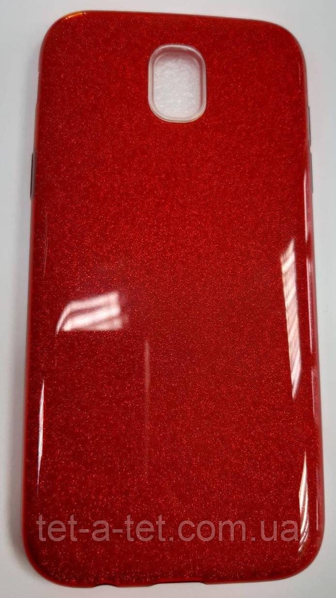 Чехол-накладка Shine Case для Samsung J530 Bordo