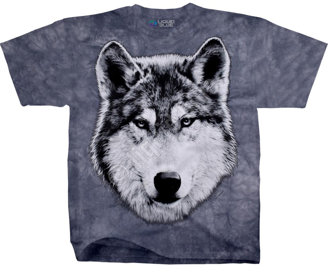 Футболка Wolf Glare TIE DYE