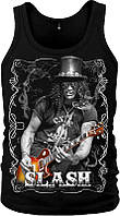 МАЙКА SLASH (WITH GUITAR AND CIGARETTE)