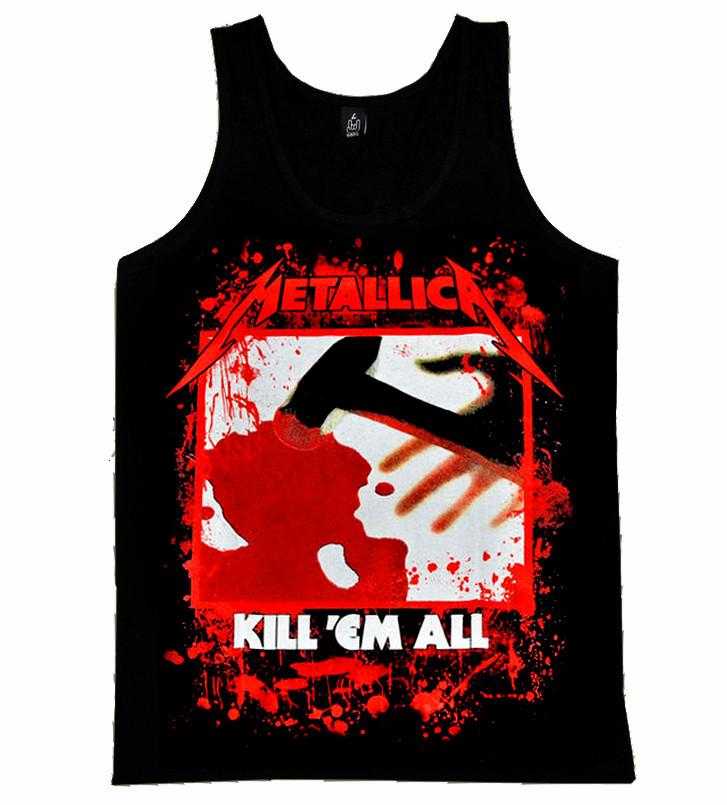 """Майка Metallica """"kill'em All"""""""