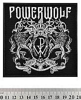 НАШИВКА POWERWOLF (ГЕРБ)