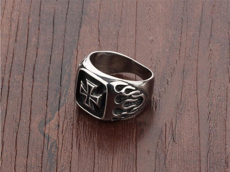"""Перстень """"Железный крест 2"""""""