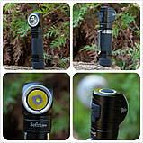 Налобный фонарь Sofirn SP40 Black 1200LM+EDC (Cree XPL, USB, IPX7, Магнит, 5300k NW нейтрально теплый свет), фото 8